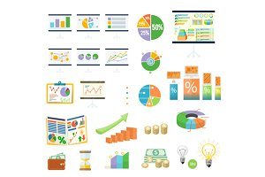Finance Diagramm and Graphic