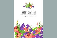 №101 Congratulations birthday