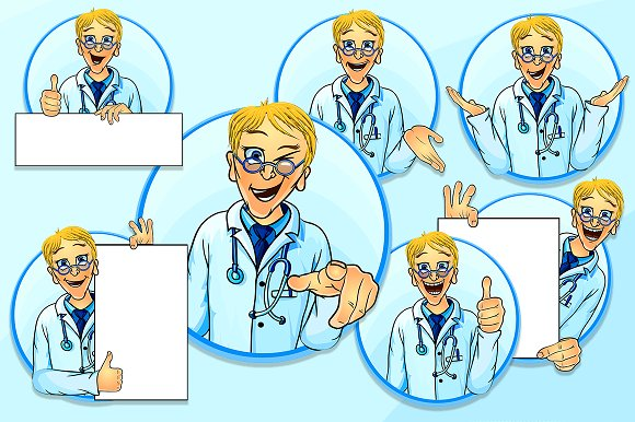 Vector Doc illustrations in Illustrations - product preview 1