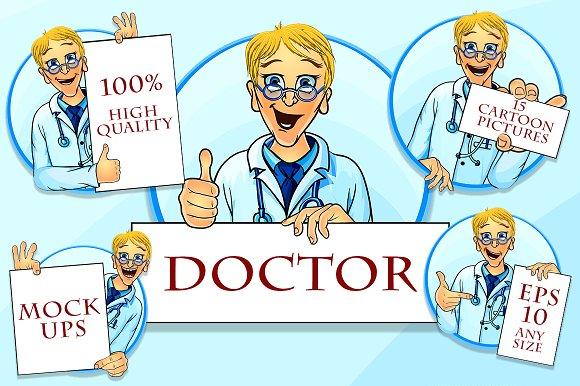 Vector Doc illustrations in Illustrations
