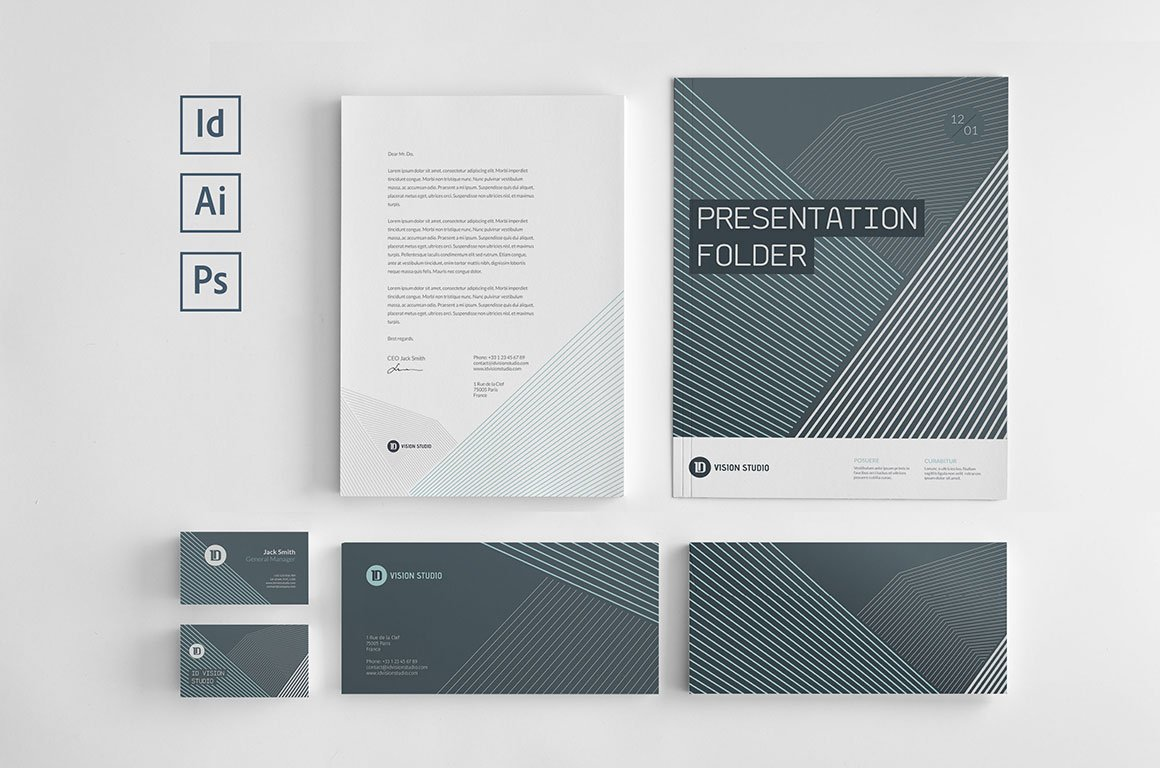 stationery corporate identity 006 stationery templates