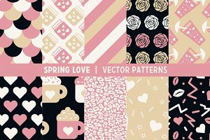 Spring Love Patterns