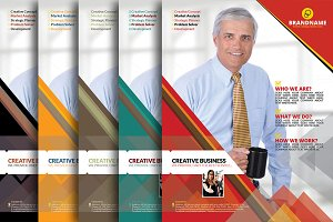 Business Flyer Set 5 Color