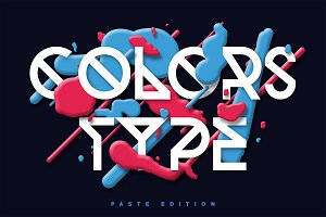Colors Type - Paste Edition