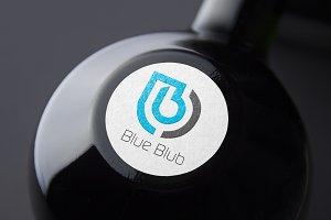 Blue Blub Logo Template