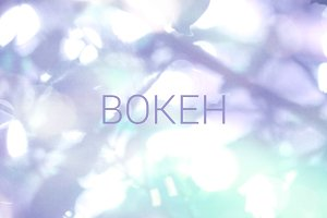 Bokeh background 111