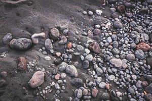 Volcanic stones background