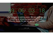 DesignWorx - Responsive Coming Soon
