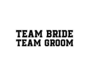 tam bride team groom wedding svg dxf