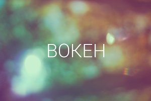 Bokeh background 117