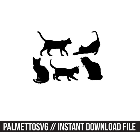 cats svg dxf