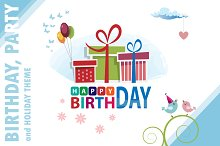 Happy Birthday. Cute cards