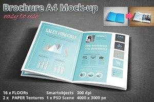 Brochure A4 Mockup