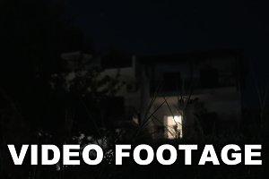 Modern House at Night