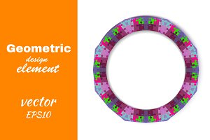Abstract design element