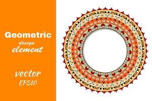 Geometric decorative element