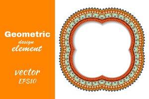 Geometric decorative design