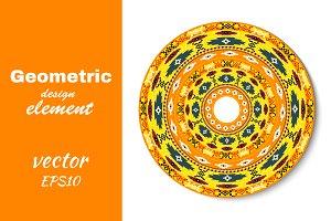 decorative round element