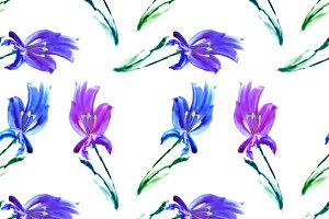 Seamless texture of watercolor