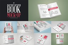 Book Mock-Up / Hardcover Edition