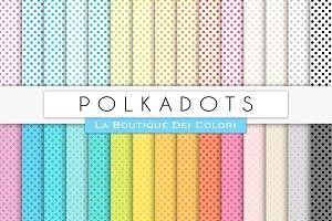 Small Polkadots Digital Paper