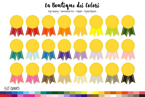 50 Rainbow Award Clip art in Illustrations
