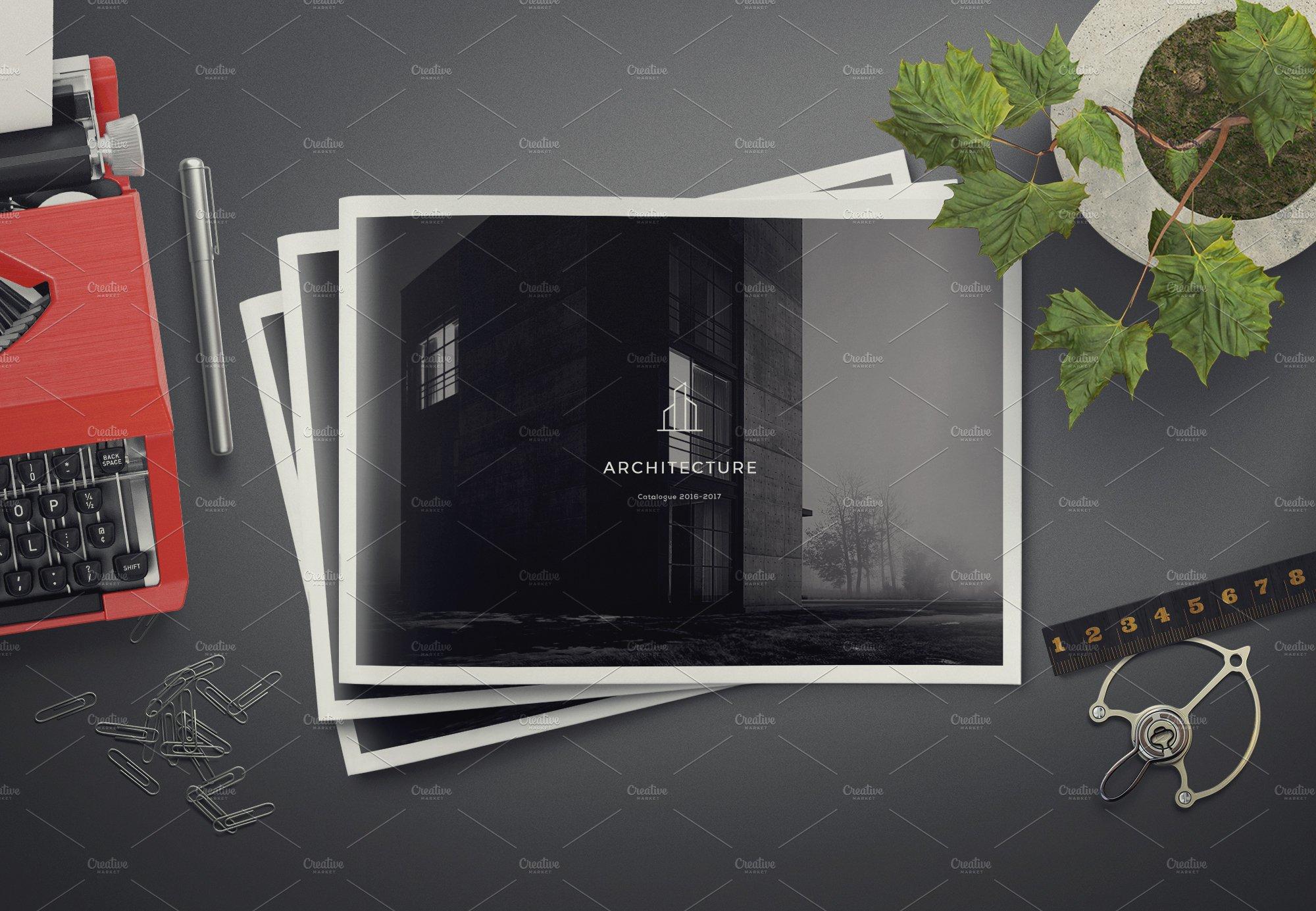 Architecture Landscape Brochure Brochure Templates
