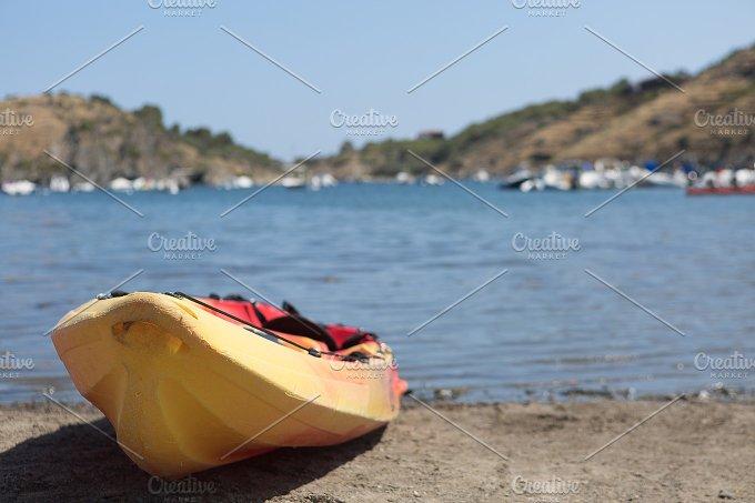 Kayak. Water sport concept  - Sports