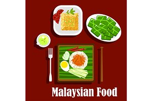 Malaysian cuisine rice dishes