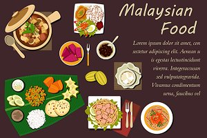 Malaysian cuisine dishes