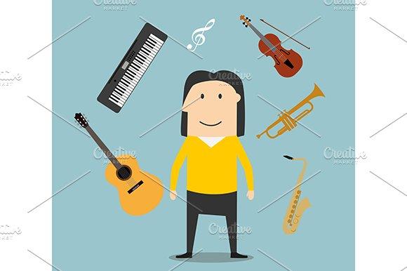Musician profession icons