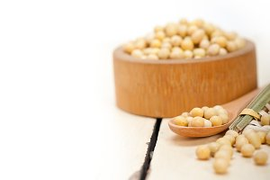 organic soy beans