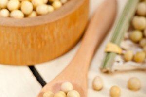 organic soy beans