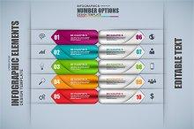 Arrow Infographic Elements