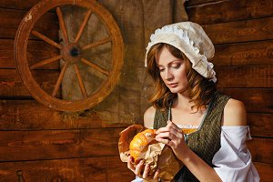 Peasant Woman cook