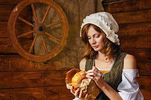 Peasant Woman cook