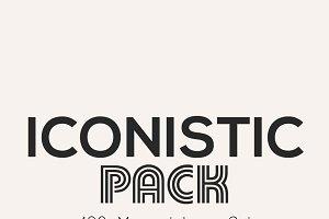 Iconistic- 400 Minimal Line Icons