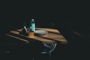 Dramatic Restaurant Table