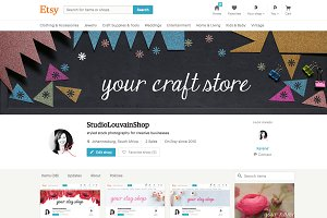 Etsy Shop Banner - crafts