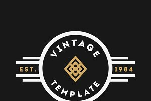 Vintage Logo Templates #1