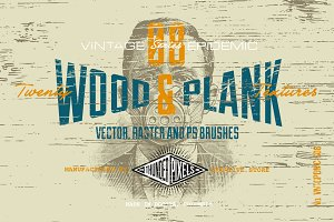 20 Wood & Plank Textures - VES08