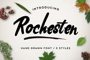 Rochesten [3 Styles + Swashes]
