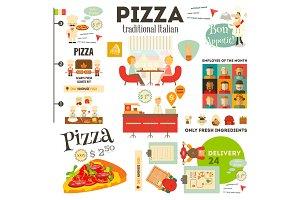 Pizzeria Infographic