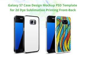 Samsung Galaxy S7 2d IMD Case Mockup