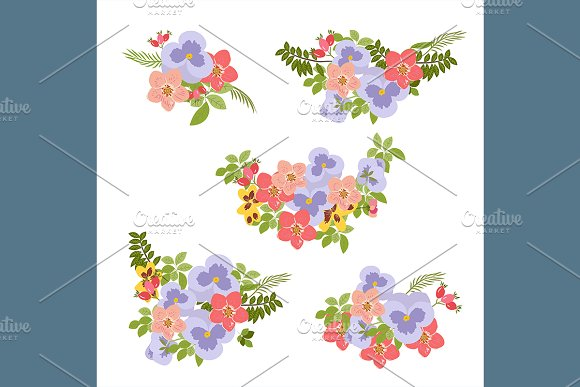 №106 Floral background  in Patterns - product preview 2