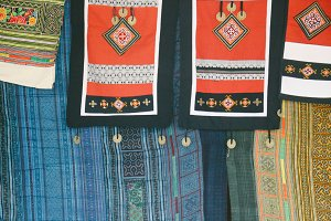 textiles of mountain ethnic people