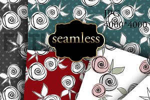 SALE Seamless floral patterns