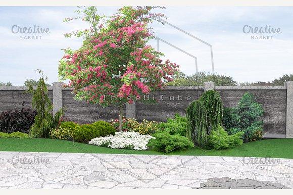 Landscaping horticultural background