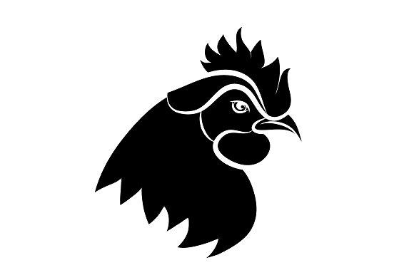 Line Art Rooster : Line art of cock ~ illustrations creative market