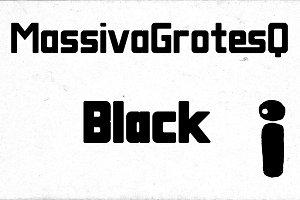 Massiva GrotesQ Black